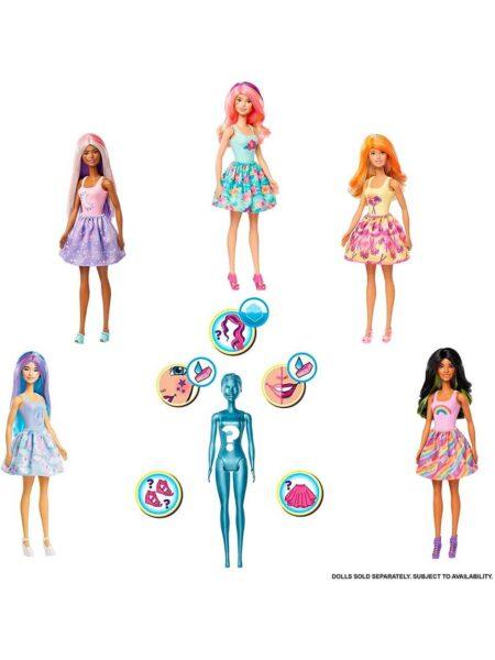 Barbie Reveal Color